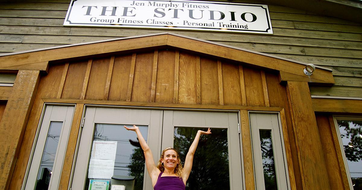 jen murphy fitness studio from outside